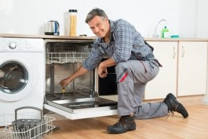 Plumbing a dishwasher